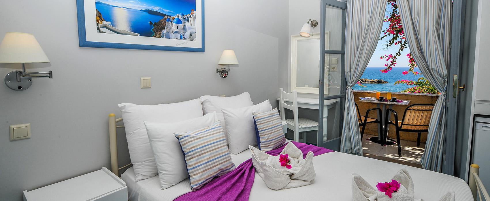 Nostos Hotel Kamari Santorini